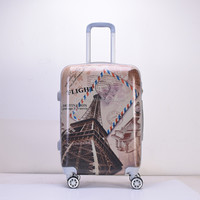 Patterned Hard Shell ABS Luggage Sets