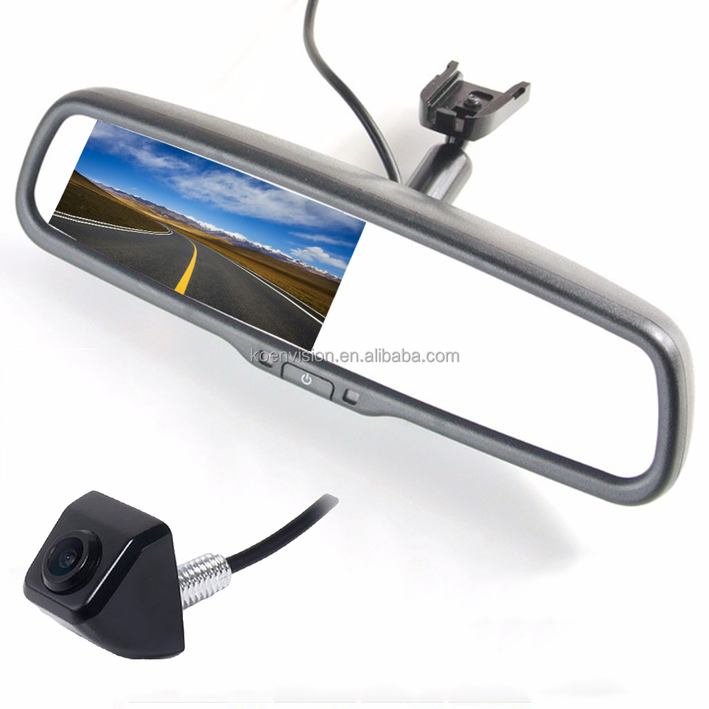 Hot Selling No Blind Spot OEM Car Rear View Mirror With Parking Camera