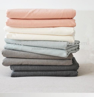 bobai textile hemstiched wholesale french linen fabric
