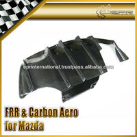 For Mazda RX-7 FD3S RE Style Type II Carbon Fiber Rear under Diffuser