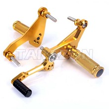 Motorcycle CNC Adjustable Rearsets Rear set Footrest For NC700 2013