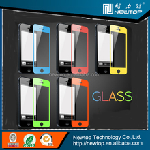 color tempered glass screen protector for iphone 5
