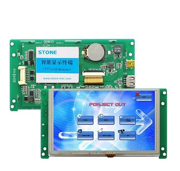 5 inch lcd touch screen display vending machine control board