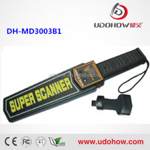 Udohow hand held metal detector price (DH-MD3003B1)