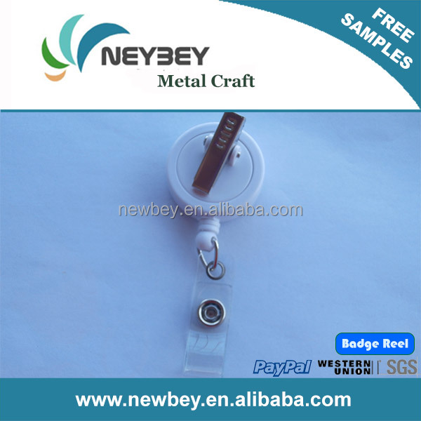 Customized round/square shape yoyo swivel badge reel