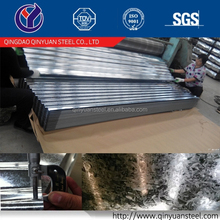 Zinc coating 60g ~ 180g Galvanized Corrugated Steel Plate for roofing
