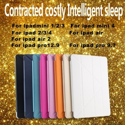 Ultra-thin flip case for ipad pro tablet cases with function of dormancy ,for ipad pro 9.7 case