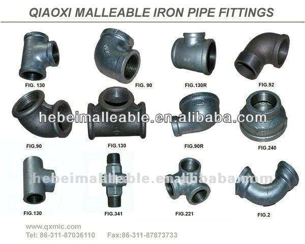 every dimensions malleable iron check nut