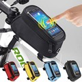 Bicycle storage bag mountain cycling bag for mobile phone