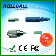 Steel material PC polished fiber fc pc optic connector