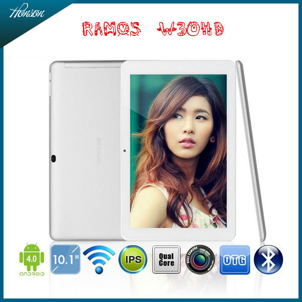 "Ramos W30HD 10.1"" IPS Retina Screen tablet pc quad core"