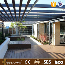 outdoor wpc deck coffee color laminate flooring waterproof composite flooring