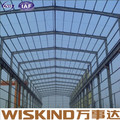 long span prefab frame steel structure aircraft hangar building