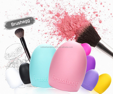 Wholesale Powder Puff and Wash Make up Brush Eggs