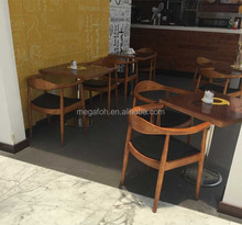 High end solid wood furniture cafe tables and chairs in dubai(FOH-BCA06)