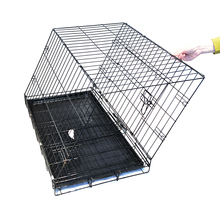 New Arrival Strong Foldable stainless steel dog cage