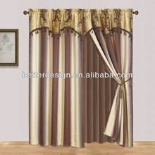 NEW LUXURY EUROPEAN STYLE WINDOW CURTAIN MADE IN CHINA