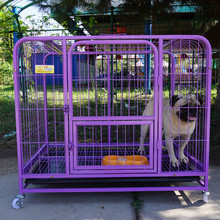 removable double doors dog cat metal cage pet kennel with dog lock