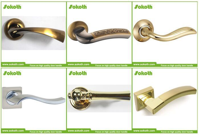 SOKOTH cheap economic aluminum door handle, View aluminum door ...