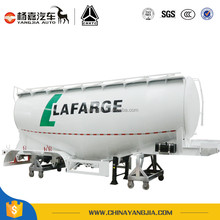 China Yangjia Powder Tank Semi Truck Trailer For Industry Transport