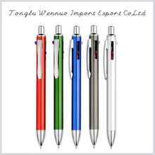 2015 new promotional products novelty push metal pen