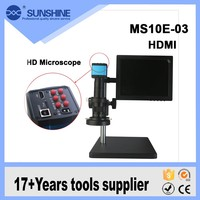 Best price HD HDMI system video microscope for scanning electron mobile phone repair