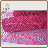 2014 beautiful fabric mesh net for wedding china supplier