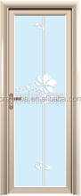 fashion design aluminum/ aluminium Doors with double tempered glass