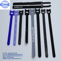Reusable Nylon Soft Hook & Loop Cable Tie / Thin One Wrap Cable Tie/Back to Back Cable Tie