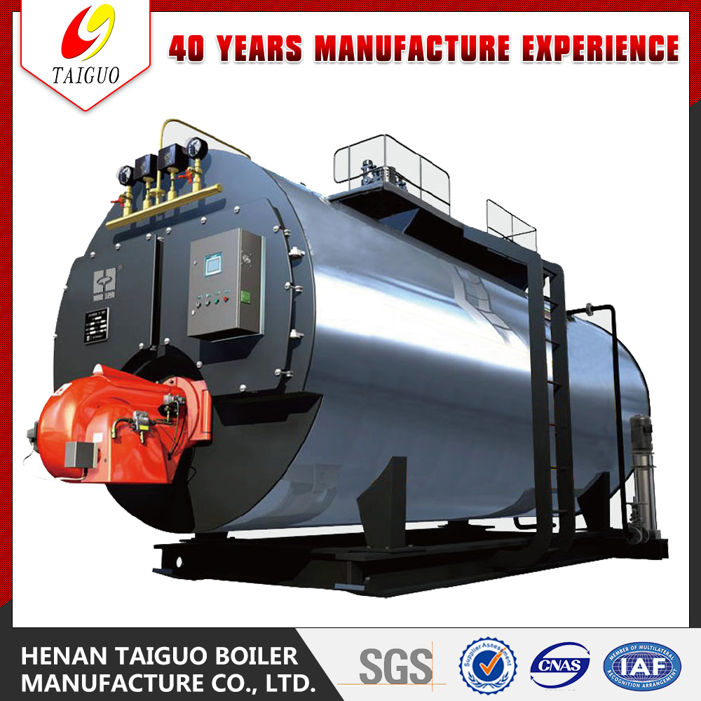 High Efficiency Three Pass Fire Tube Gas oil Diesel steam boiler unit