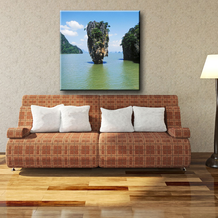 Uncanny workmanship natural scenery pictures for fabric house painting designs