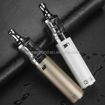 greensound patent E Cigarette Starter Kit 2200mah with 0.8ohm and AIO design G5 free vape pen starter kit