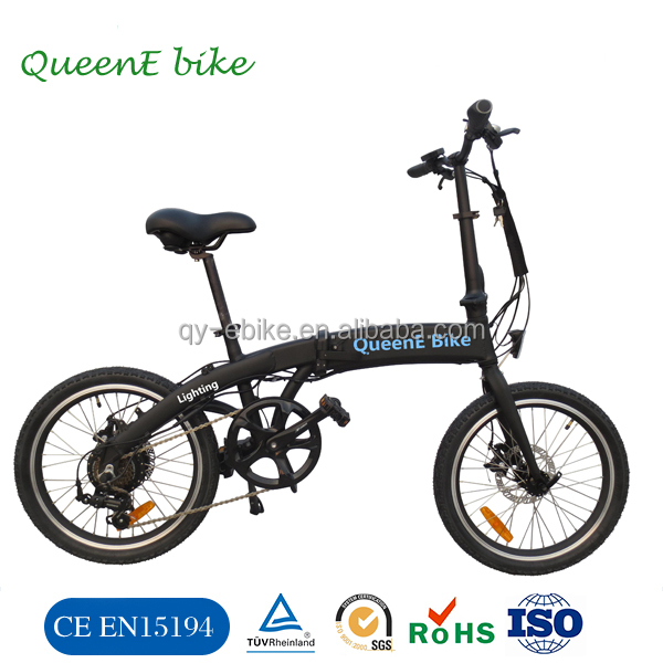 2016 new transportation Vehicle adult Bicycle electric folding electric ebike