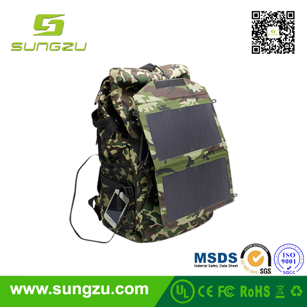 2017 high quality solar bag with solar panel cnet solar chargers