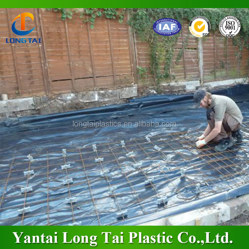 woven weed mat, plastic ground cover,agricultural black plastic woven weed control ground cover mat