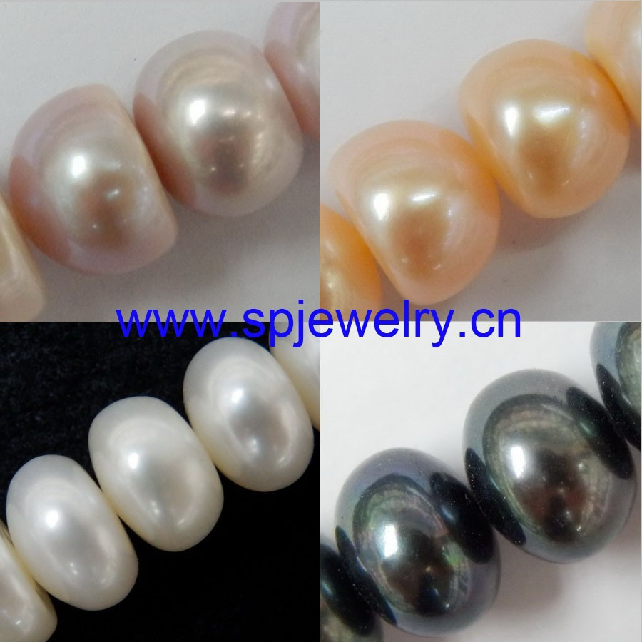 decoration pearl strands, similiar round 4-11mm 16-inch per strand