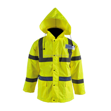 high visibility winter jacket for motorcycle