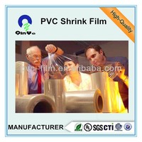 Plastic Custom Printed PVC Shrink Sleeve Film For Printing