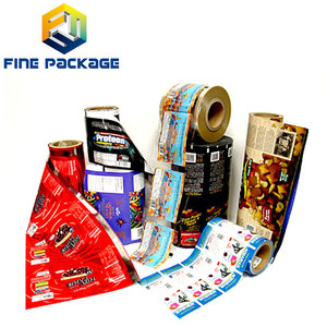 Tested Large Supplier Laminated Packaging Plastic Roll Film