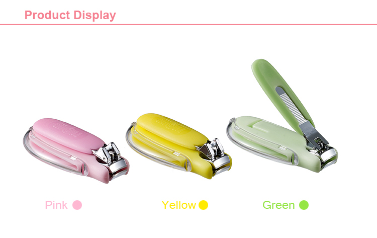 High Grade Eco-Friendly New Design Baby Nail Scissor