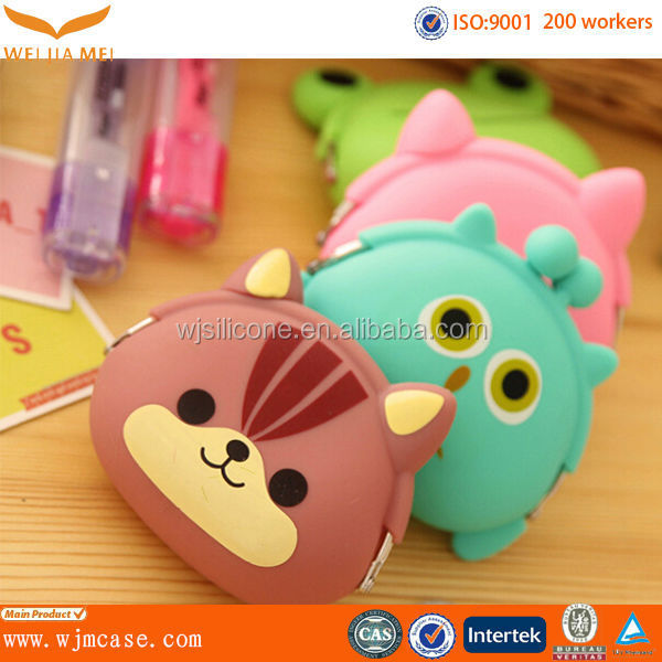 FDA fashion silicone coin purse