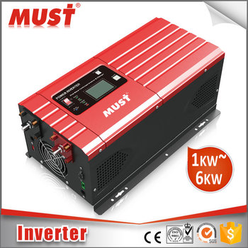pure sine wave 230vac inverter 1kw to 6kw supports all kinds of motor loads