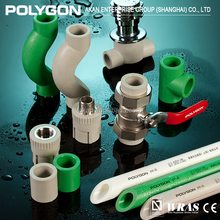 POLYGON New Design White Sanitary Ppr Water Plastic Pipe Size For Hot And Cold