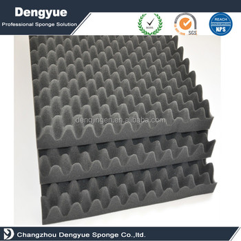 Wave acoustic foam Australia soundproofing foam sound absorbing breathable material