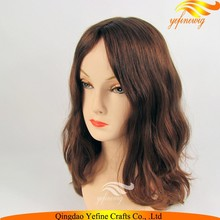 Yefine Wig Ash Blonde Unprocessed Russian European Virgin Hair Kosher Wig