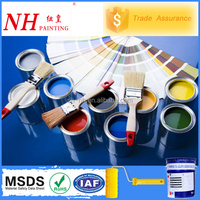 Colored polyurethane waterproof paint for wood furniture
