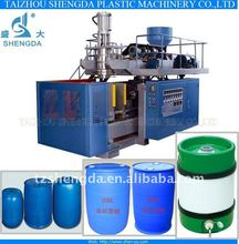 extrusion blow molding machine making drums barrels