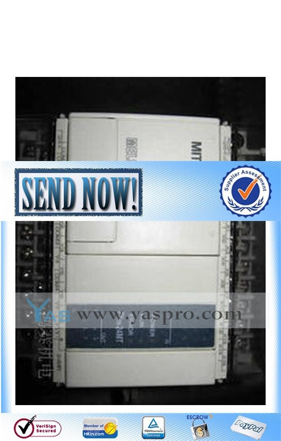 Mitsubishi plc programmable logic controller FX1N-24MT-001