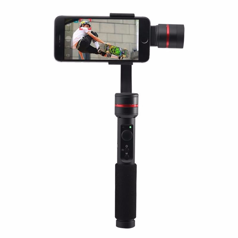 alibaba stock 3 Axis Handheld Gimbal for Smartphone mobile phones Go pro with Face Recognition similar as smooth <strong>q</strong>