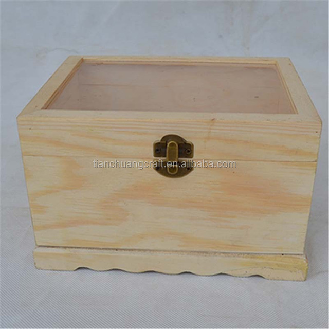 Wooden jewelry box necklace box High-end jewelry display display props Beads package